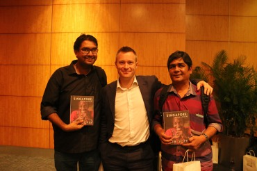 AKM Mohsin, Tom Soper and Manishankar (Right to Left)