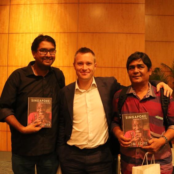 AKM Mohsin, Tom Soper and Manishankar (Right to Left)